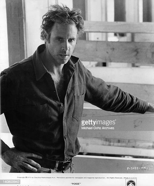 Bruce Dern in a publicity portrait from the film 'Posse' 1975