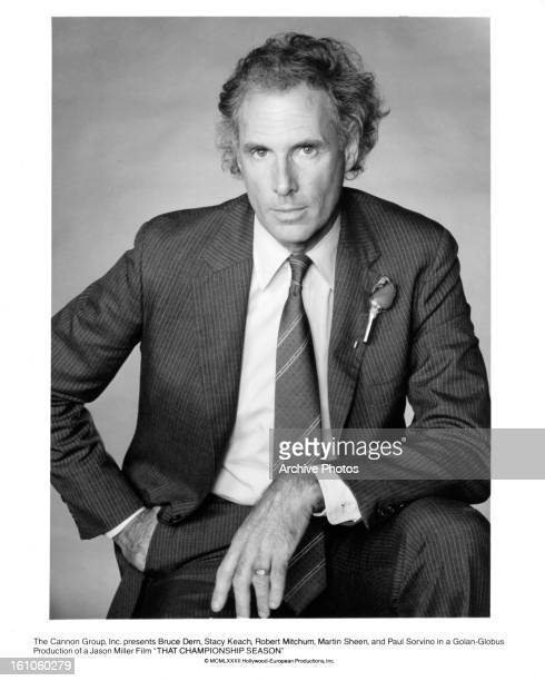 Bruce Dern in publicity portrait for the film 'That Championship Season' 1982