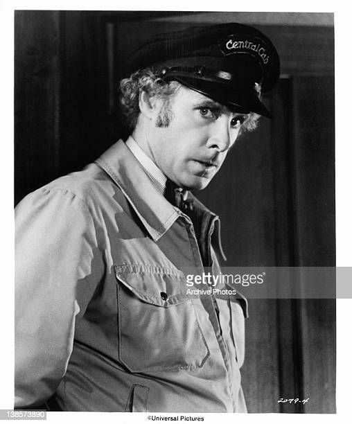 Bruce Dern is a wouldbe actor turned cab driver in a scene from the film 'Family Plot' 1976
