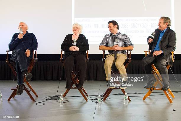 Bruce Dern June Squibb Will Forte and Peter Travers attend the New York Film Critics Series Screening of Nebraska at AMC Empire 25 theater on...
