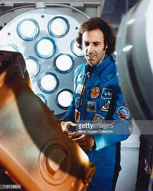 Bruce Dern US actor wearing a jumpsuit covered with patches in a publicity still issued for the film 'Silent Running' USA 1972 The 1972 science...