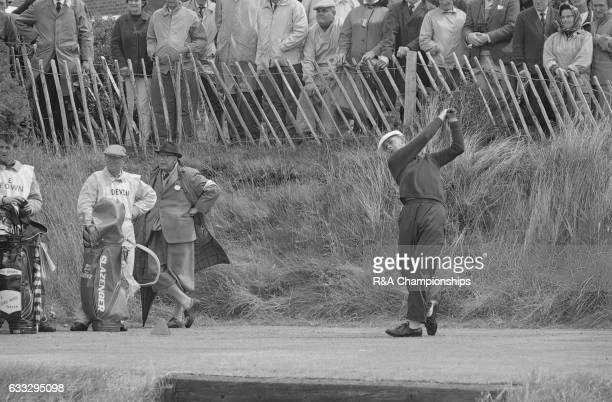 Bruce Devlin of Australia in action during the 1965 Open Championship at Royal Birkdale Golf Club Liverpool England