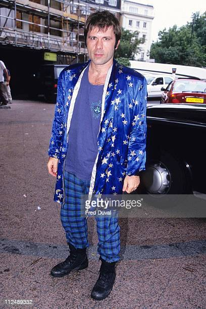 Bruce Dickinson of Iron Maiden during Kerrang Awards 1997 at London in London United Kingdom