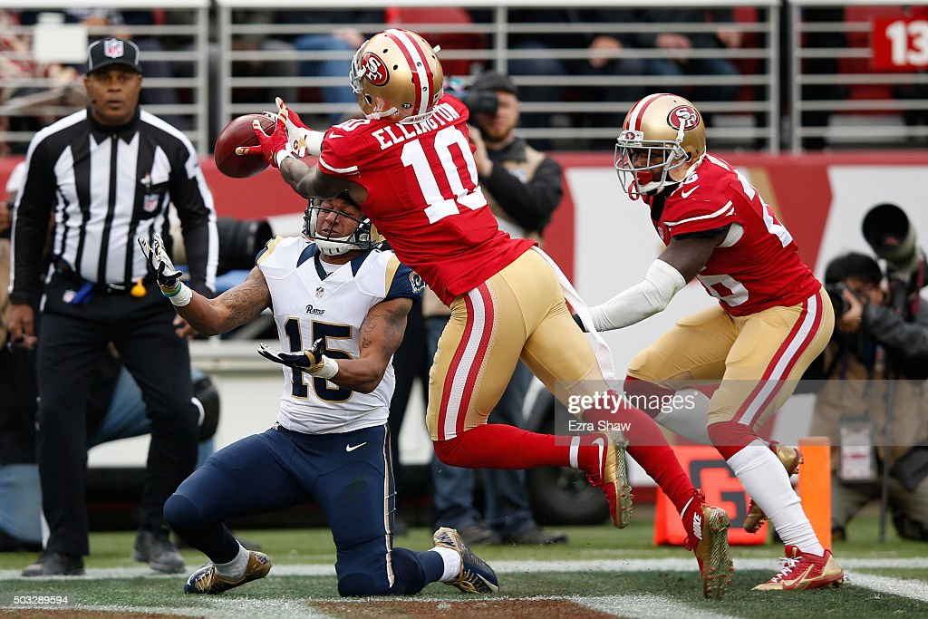 St Louis Rams v San Francisco 49ers : News Photo