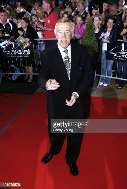 Bruce Forsyth during The Northern Rock All Star Charity Gala Red Carpet at Celtic Manor Resort in Newport Great Britain