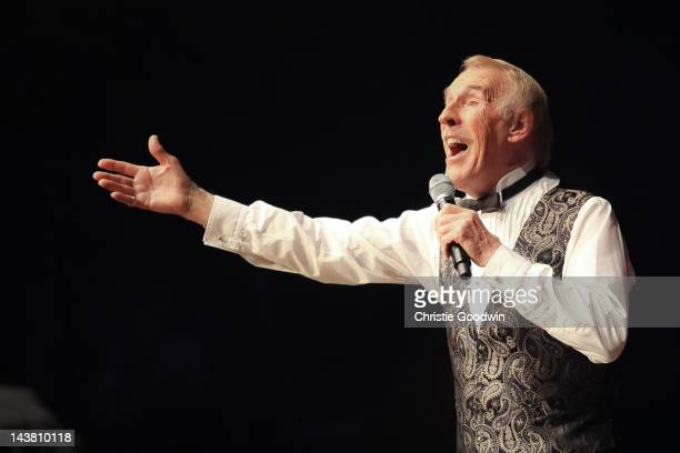 Bruce Forsyth performs on stage at Royal Albert Hall on May 3 2012 in London United Kingdom