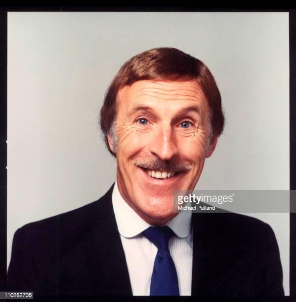 Bruce Forsythe studio portrait London 1982