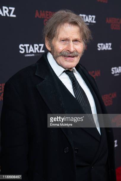 Bruce Glover arrives at the premiere of STARZ's 'American Gods' Season 2 at Ace Hotel on March 05 2019 in Los Angeles California
