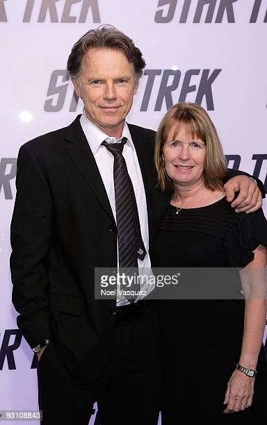 Bruce Greenwood and his wife Susan Devlin attend the Star Trek DVD and BluRay release party at the Griffith Observatory on November 16 2009 in Los...