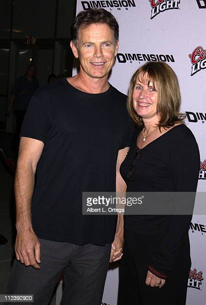 Bruce Greenwood and Susan Devlin during Below Premiere at Arclight Theater in Hollywood California United States