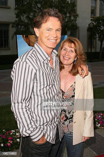 Bruce Greenwood and Susan Devlin during Los Angeles Premiere of the HBO Original Series John From Cincinnati Arrivals at Paramount Theater in...