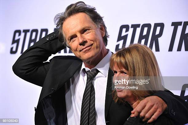 """Bruce Greenwood and wife Susan Devlin arrive for Paramount Home Entertainment's """"Star Trek"""" DVD Release Party at the Griffith Observatory on November..."""