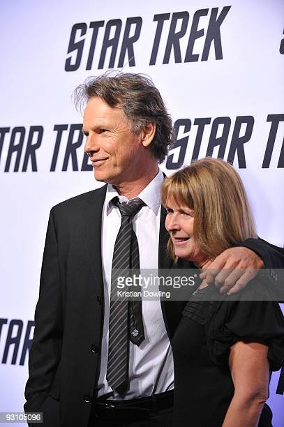 Bruce Greenwood and wife Susan Devlin arrive for Paramount Home Entertainment's Star Trek DVD Release Party at the Griffith Observatory on November...