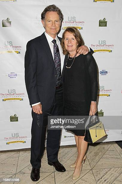 Bruce Greenwood and wife Susan Devlin attend The Unusual Suspects Theatre Company 20th Anniversary Gala at Cicada on May 16 2013 in Los Angeles...