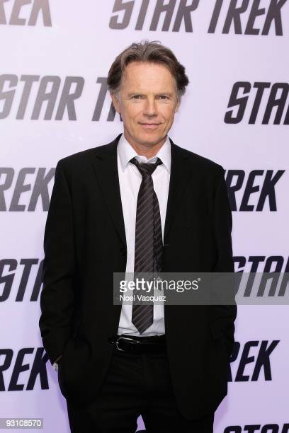 Bruce Greenwood attends the 'Star Trek' DVD and BluRay release party at the Griffith Observatory on November 16 2009 in Los Angeles California