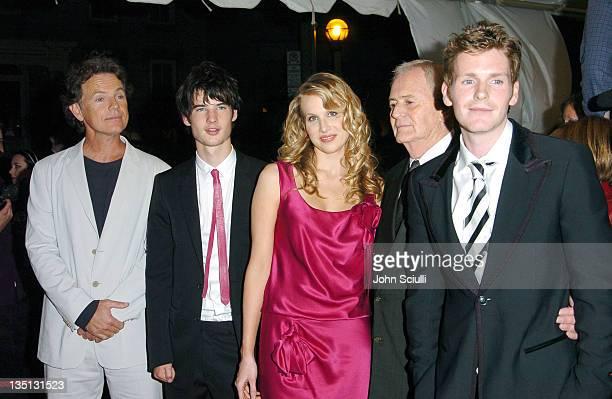 Bruce Greenwood Tom Sturridge Lucy Punch Istvan Szabo director and Shaun Evans