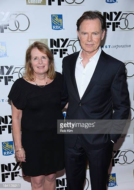 """Bruce Greenwood with wife Susan Devlin attend Closing Night Gala Presentation Of """"Flight"""" during the 50th New York Film Festival at Alice Tully Hall..."""