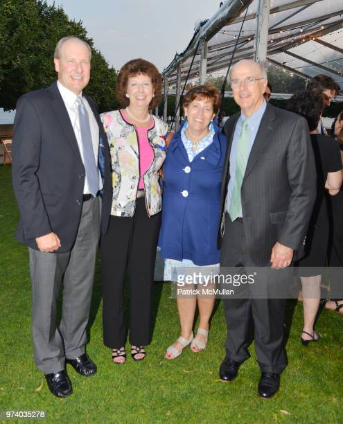 Bruce Hoechner Carol Gray Janet Brogan and Chris Brogan attend the Franklin D Roosevelt Four Freedoms Park's gala honoring Founder Ambassador William...
