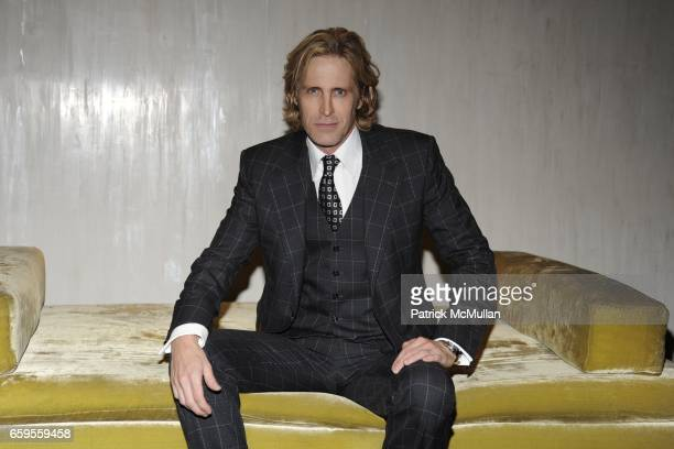 Bruce Hoeksema attends Gwyneth Paltrow and VBH's Bruce Hoeksema Host Cocktail Party for Valentino The Last Emperor at VBH on October 27 2009 in New...
