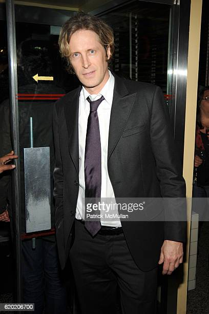 Bruce Hoeksema attends THE CINEMA SOCIETY MICHAEL KORS host the after party for IRON MAN at The Odeon on April 28 2008 in New York City