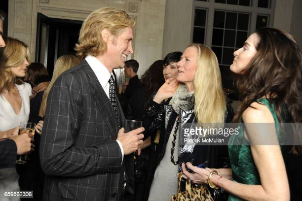 Bruce Hoeksema Gigi Mortiner and Jennifer Creel attend Gwyneth Paltrow and VBH's Bruce Hoeksema Host Cocktail Party for Valentino The Last Emperor at...