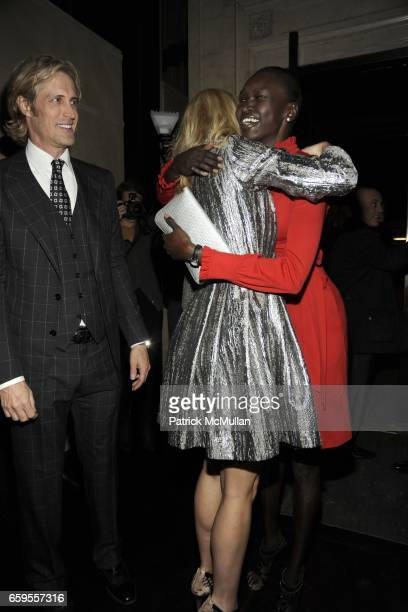 Bruce Hoeksema Gwyneth Paltrow and Alek Wek attend Gwyneth Paltrow and VBH's Bruce Hoeksema Host Cocktail Party for Valentino The Last Emperor at VBH...