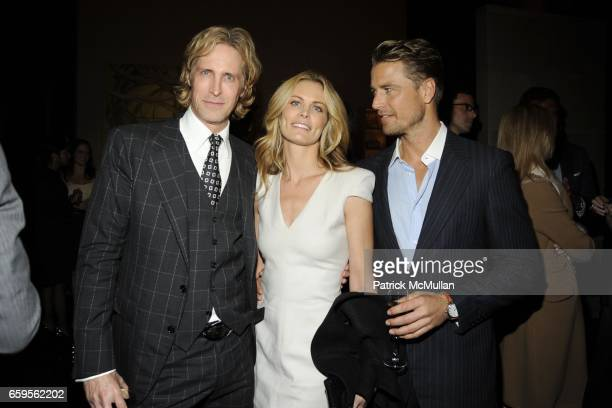 Bruce Hoeksema Lori Baker and Berthil Espegren attend Gwyneth Paltrow and VBH's Bruce Hoeksema Host Cocktail Party for Valentino The Last Emperor at...