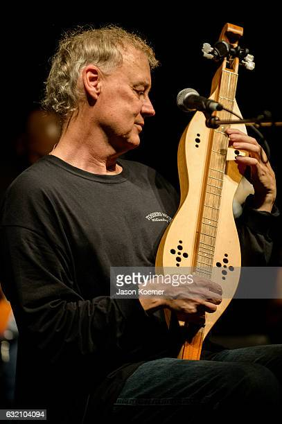 Bruce Hornsby performs on stage at Mizner Park Amphitheater on January 15 2017 in Boca Raton Florida