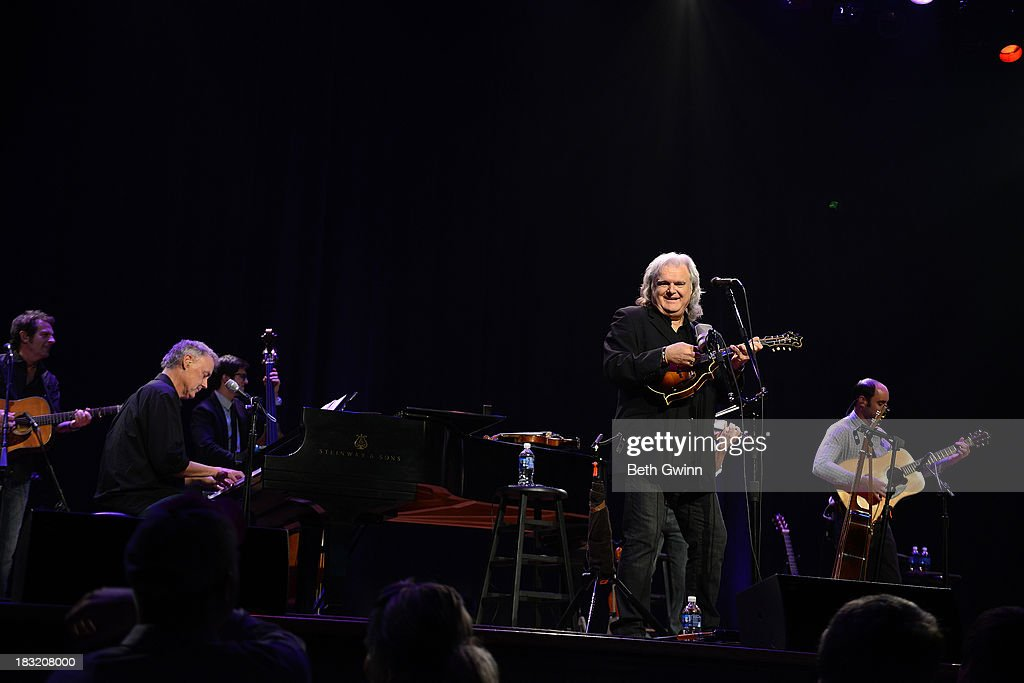 Bruce Hornsby & Ricky Skaggs performs at Ryman Auditorium on October 5, 2013 in Nashville, Tennessee.