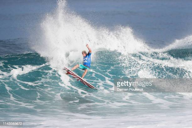 Bruce Irons of Hawaii competing in the 2016 Billabong Pipe Masters