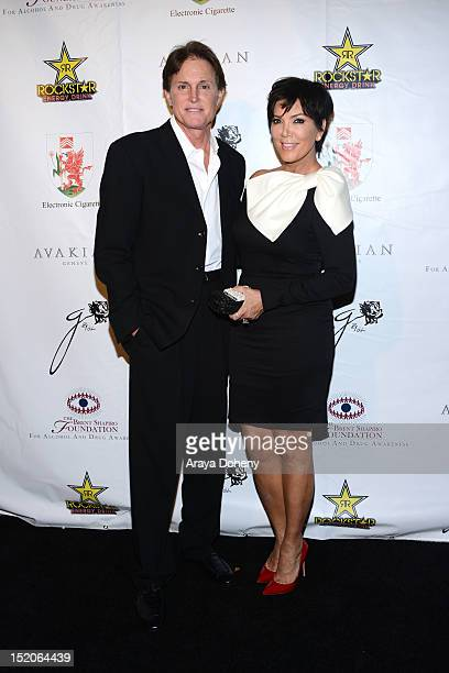 Bruce Jenner and Kris Jenner arrive at the Brent Shapiro Foundation The Summer Spectacular on September 15 2012 in Beverly Hills California