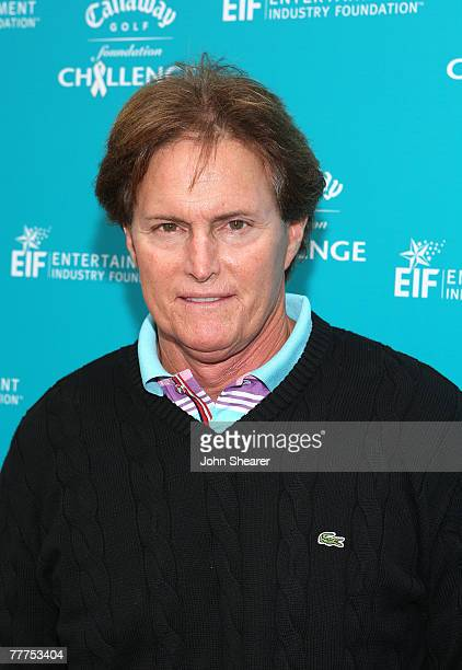 Bruce Jenner at the Callaway Golf Foundation Challenge at the Riviera Country Club in Los Angeles California on November 5 2007