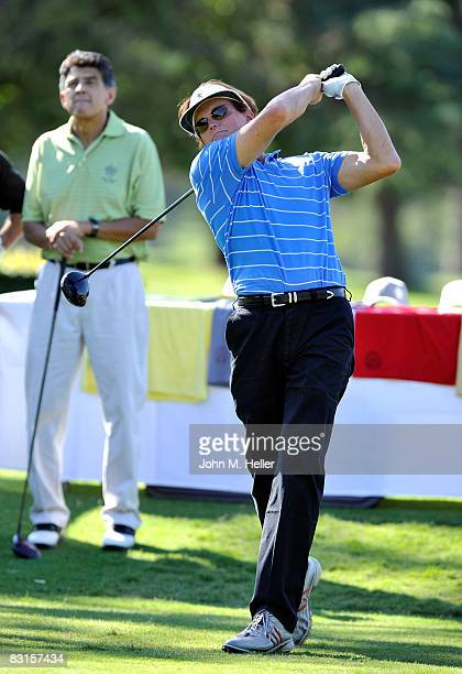 Bruce Jenner attends the 10th Annual Golf Classic benefiting the Elizabeth Glaser Pediatric AIDS Foundation on October 6 2008 the the Lakeside Golf...