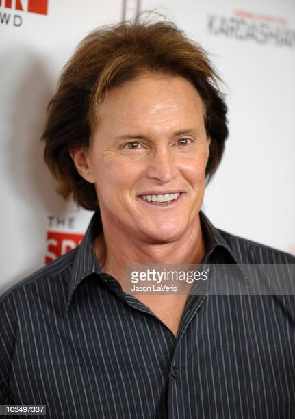 Bruce Jenner attends the Comcast premiere party for Keeping Up With The Kardashians at Trousdale on August 19 2010 in West Hollywood California