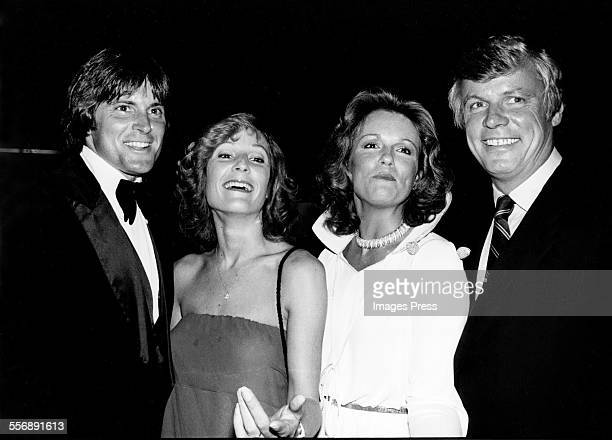 Bruce Jenner Chrystie Jenner Phyllis George and John Brown circa 1979 in New York City