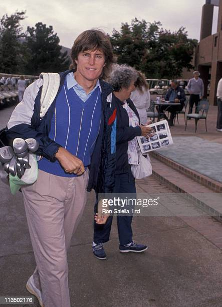 Bruce Jenner during 22nd Annual Tim Conway Celebrity Golf Invitational at North Ranch Country Club in Westlake California United States