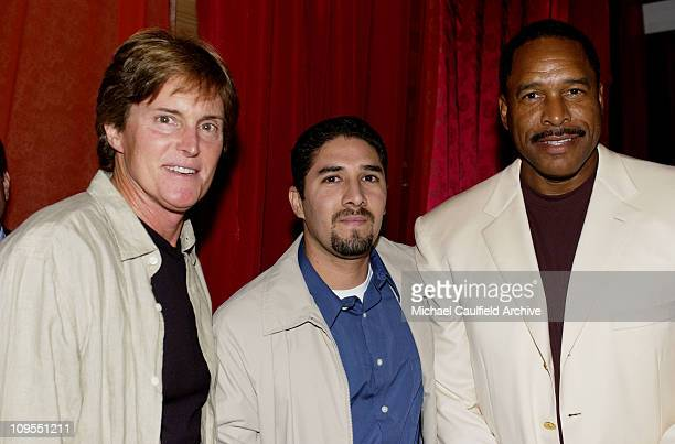 Bruce Jenner Ford's Octavio Navarro and Dave Winfield