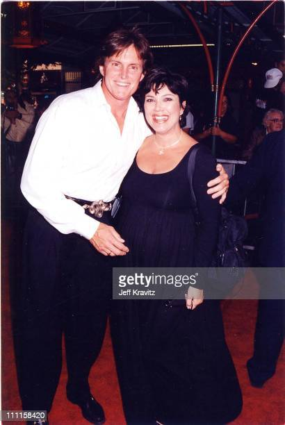 Bruce Jenner his wife during 'Face Off' Premiere in Los Angeles California United States