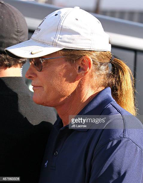 Bruce Jenner is seen filming his reality show on October 20 2014 in Los Angeles California