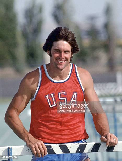 OLYMPICS MONTREAL 1976 Bruce Jenner trains for the decathlon for the 1976 Summer Olympics