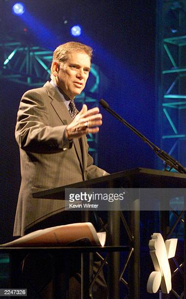 Bruce Johansen Pres and CEO of NAPTE spoke at the 'Women Of TV' general session at the NATPE Convention in Las Vegas NV 1/24/01