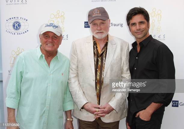 Bruce Johnston and Mike Love of the Beach Boys and John Stamos at the 1st annual Florida Sounding Off For A Cure benefit concert presented by the...