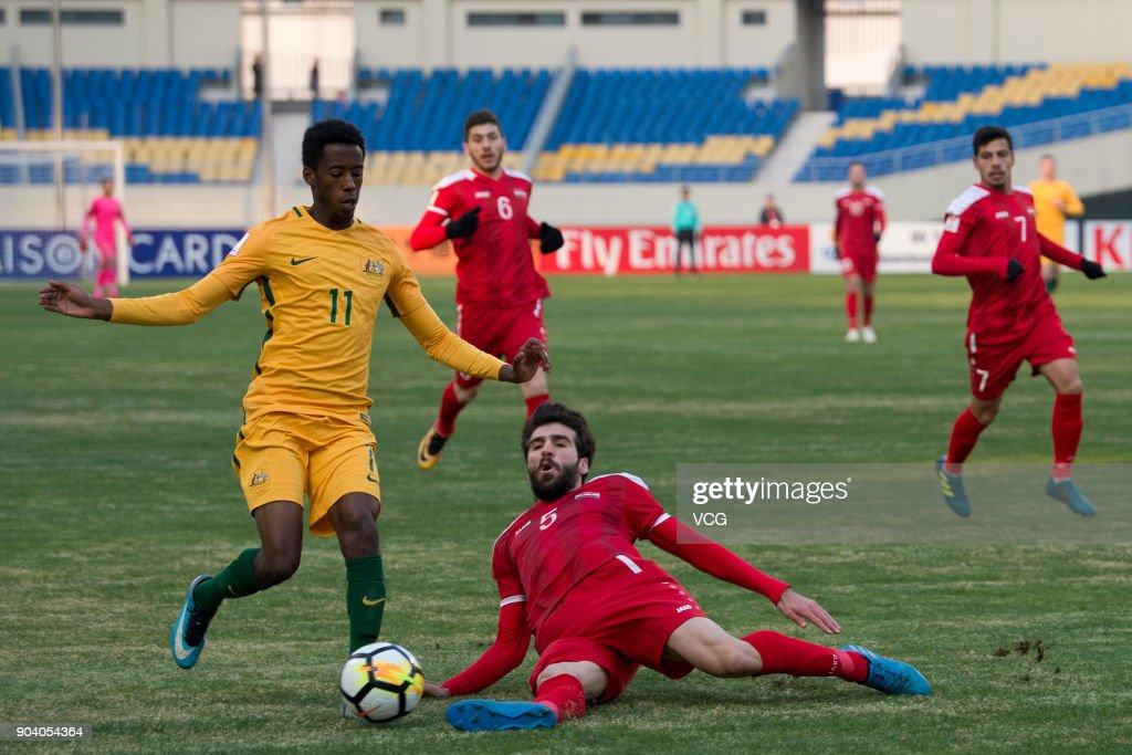 Australia v Syria - AFC U23 Championship China 2018 Group Stage