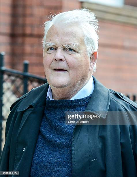 Bruce Kent arrives at the CND conference on October 17 2015 in London England The newly elected Labour Party leader Jeremy Corbyn will address the...