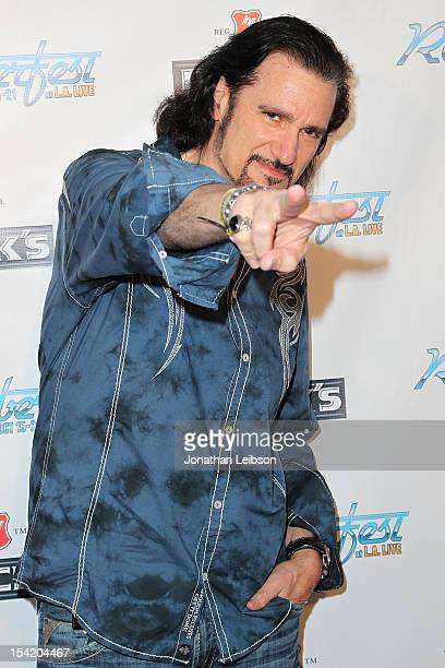 Bruce Kulick attends the Rock Icon Gene Simmons And Celebrity Chef Wolfgang Puck Hosts Kick Off Party For Rocktoberfest at LA LIVE on October 15 2012...
