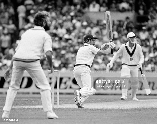Bruce Laird of Australia batting during his innings of 74 runs in the 3rd Test match between Australia and England at the MCG, Melbourne, Australia,...