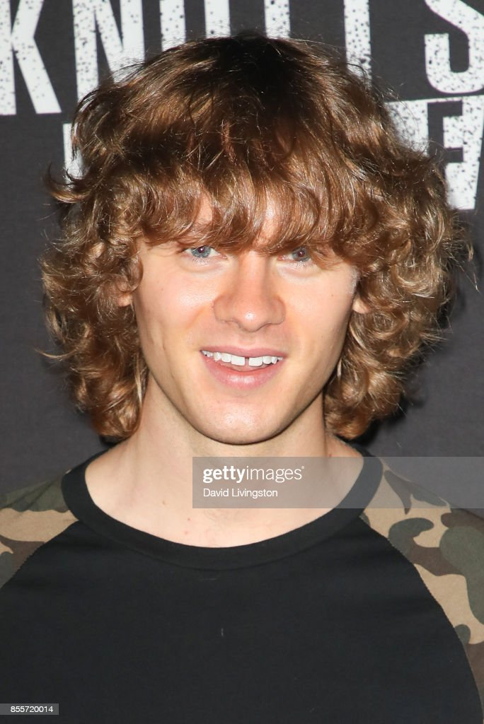 Bruce Langley attends the Knott's Scary Farm and Instagram's Celebrity Night at Knott's Berry Farm on September 29, 2017 in Buena Park, California.