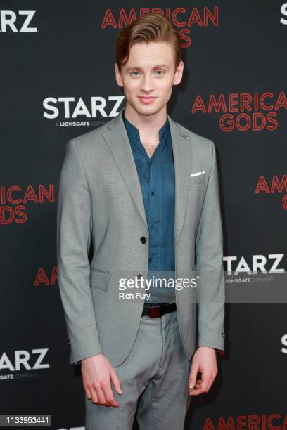 """Bruce Langley attends the premiere of STARZ's """"American Gods"""" season 2 at Ace Hotel on March 05, 2019 in Los Angeles, California."""