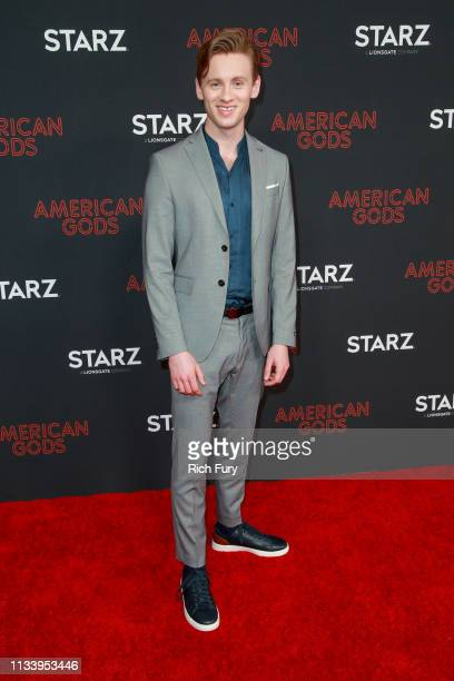 Bruce Langley attends the premiere of STARZ's 'American Gods' season 2 at Ace Hotel on March 05 2019 in Los Angeles California