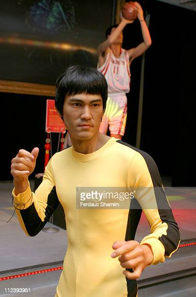 Bruce Lee waxwork during Madame Tussauds Celebrates the Chinese New Year at Madame Tussauds in London Great Britain